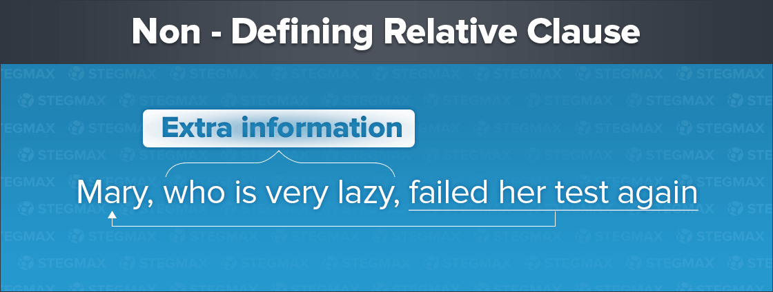 Non - Defining Relative Clause